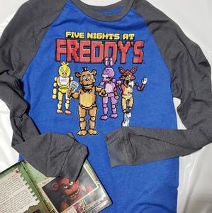 NEW XL Five Nights At Freddys Long Sleeve